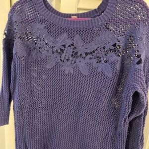 Blue LC Lauren Conrad sweater